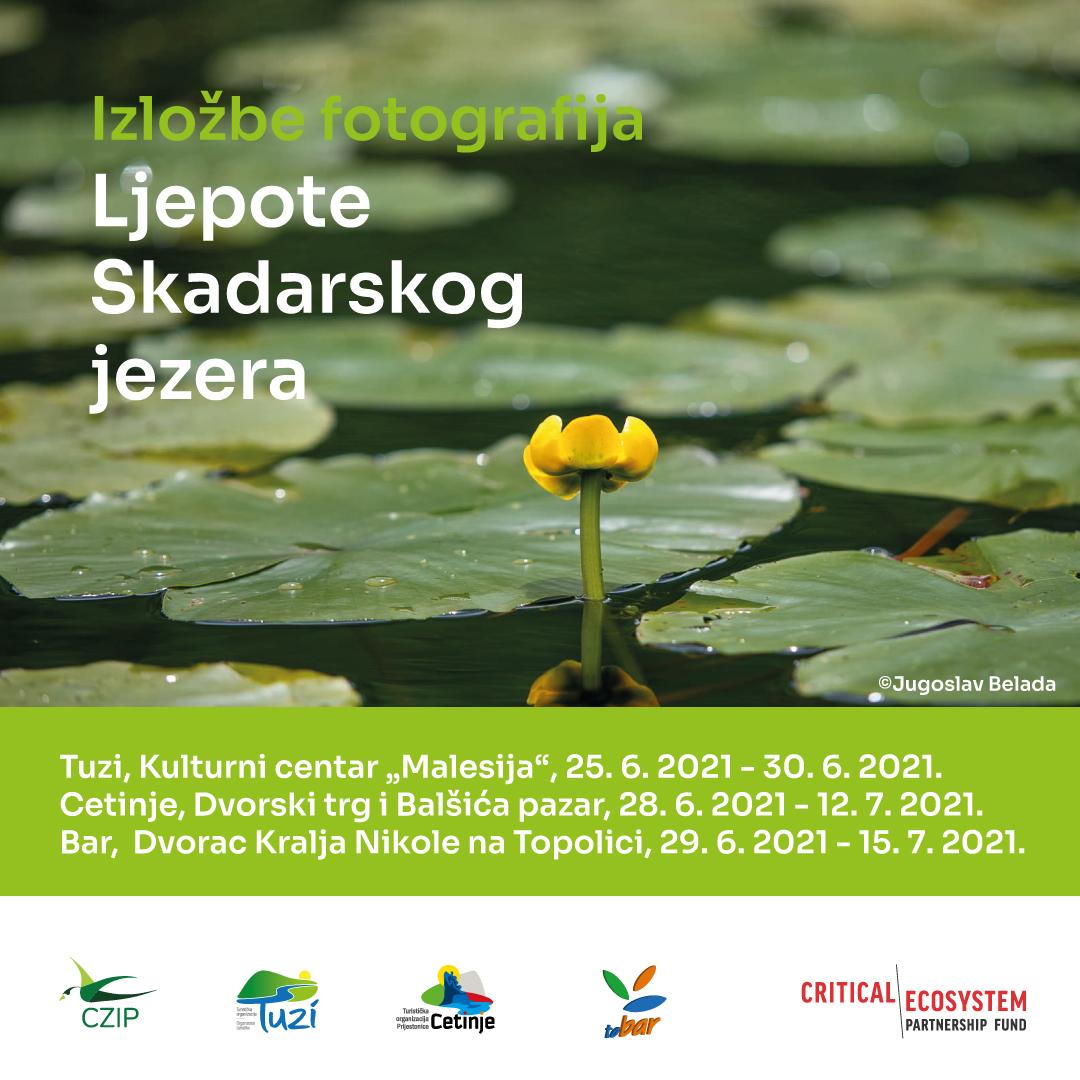 """Izložbe """"Ljepote Skadarskog jezera"""" otvorene u Tuzima, Cetinju i Baru"""