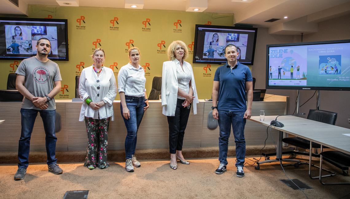 Naša zelena ideja Embraced by Nature na Regionalnom takmičenju u Beogradu