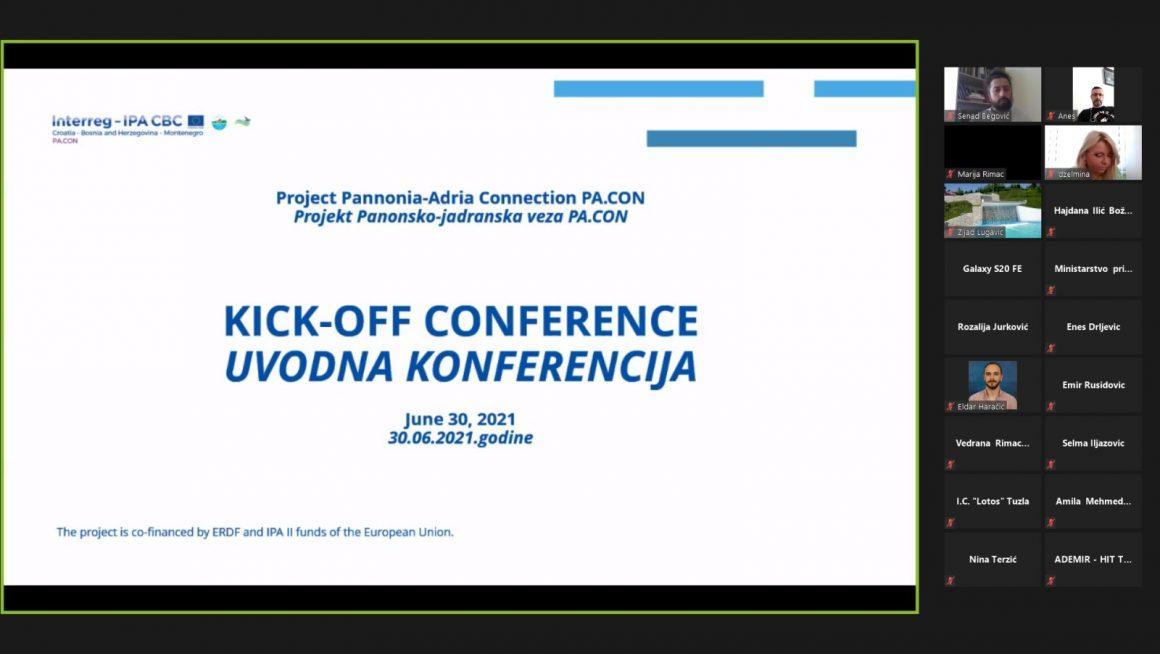 Panonsko-jadranska veza (PA.CON): Uvodna konferencija